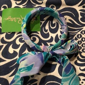 NWT Lilly Pulitzer Fabric Wrapped Bracelet